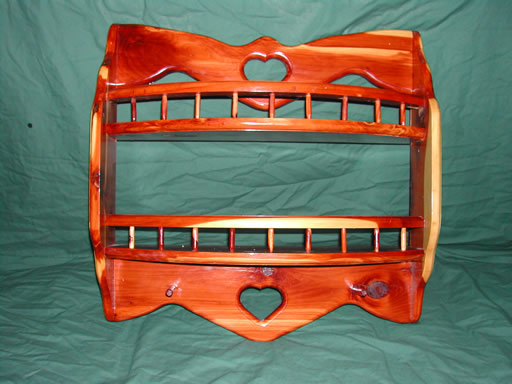 Cedar Heart Shelf