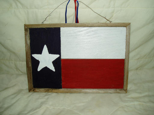 Texas Flag Decorative Frame